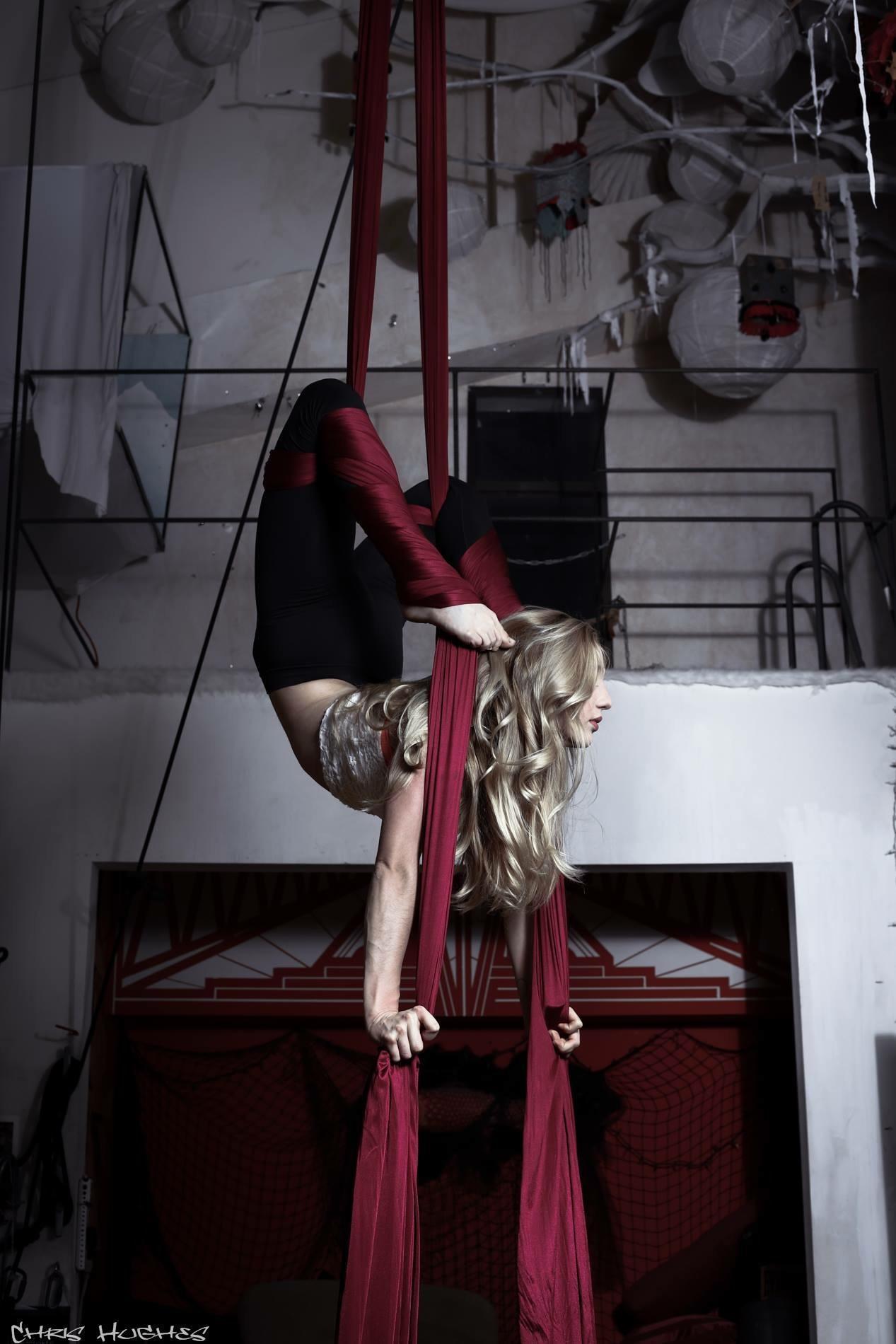 Katelyn Carano aerial silks
